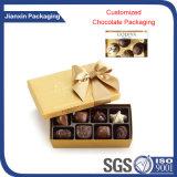 مربّعة بلاستيكيّة صفحة شوكولاطة صندوق وعاء صندوق يعبّئ