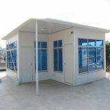 Полуфабрикат дом контейнера как модульное домашнее здание