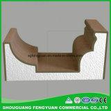 Modanatura decorativo esterno del cornicione della gomma piuma del peso leggero ENV