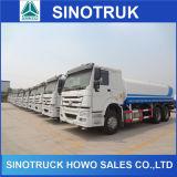 20000L HOWO 6X4 de almacenamiento del tanque de agua del camión precio en la India