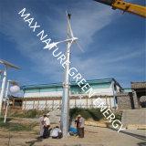 Turbine éolienne 2kw + 5 panneaux solaires PCS en tant que système hybride
