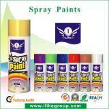 Spruzzo della vernice dell'aerosol di effetto dell'oro