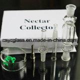 10mm de Boorplatforms van het Glas van de Waterpijp van het Glas van Collectar van de Nectar