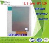 2.2 인치 240*320 Spi 14pin TFT LCD 위원회, 선택권 접촉 스크린을%s 가진 St7789V