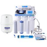 Sistema del depuratore di acqua di osmosi d'inversione delle 5 fasi con una visualizzazione delle 5 lampade per la famiglia