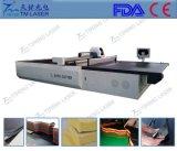 Machine de découpage automatique d'échantillon de qualité de machine de découpage de tissu de tissu et de feuilles