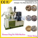 ISO9000 paille de riz de la biomasse Pellet Making Machine (TYJ680-III)