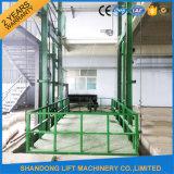 1000kg de openlucht Gebruikte Fabrikant van de Lift van het Spoor van de Gids van de Lading Hydraulische
