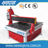 Incisione acrilica del legno delle mobilie che fa pubblicità alla macchina di alluminio di CNC