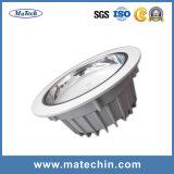 La coutume de moulage par injection en alliage aluminium moulage sous pression du carter à LED
