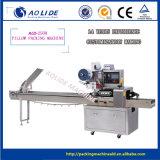 Machine à emballer automatique de palier automatique horizontal de lucette