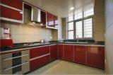 Meubles lustrés élevés Yb1707033 de cuisine de vente chaude neuve de modèle