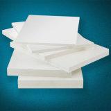 Placa de espuma de PVC branco de impressão. Densidade 0.55g/cm3