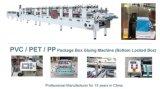De automatische Duidelijke het Lijmen APET pp Doos die van pvc Machine maken
