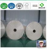Un solo lado de papel recubierto de PE de grado alimentario para Vasos