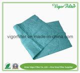 化学繊維材料の小型のバッグフィルタ媒体