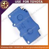 고품질 차는 Toyota를 위한 브레이크 패드 04465-0k020 사용을 분해한다