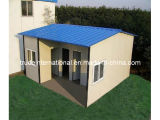 La costruzione modulare della struttura d'acciaio del calibro/mobile chiaro/prefabbricato/hanno prefabbricato la Camera