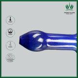 Bewegliches langes Griff-Glasrohr Glassbong rauchende Filterglockeweed-Pfeife