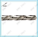 Conjunto izquierdo del dígito binario de taladro de la longitud del corredor del acero de alta velocidad de la flauta