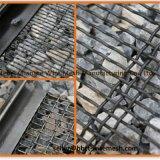 Roter Bergbau-Maschendraht quetschverband das gesponnene Wre Ineinander greifen, das in den Steinbrüchen und in den Kohle-Yards verwendet wurde