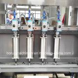 Automatische reinigende Lotion-Flaschen-abfüllende Füllmaschine mit Kolben