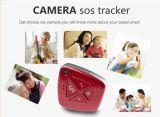 Mini macchina fotografica dell'inseguitore 3G di GPS in pendente per il capretto o invecchiato
