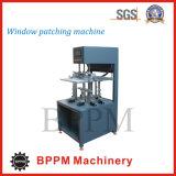Máquina que parchea de la ventana del rectángulo del cartón del rectángulo de papel