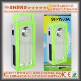 Luz Emergency solar recarregável com 1W a lanterna elétrica, tomada do USB (SH-1903A)