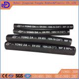 Pipe en caoutchouc hydraulique tressée de tube de boyau de fil d'acier