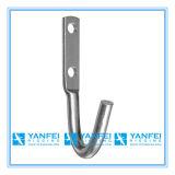 Crochet de corde galvanisé en zinc galvanisé à chaud DIP