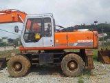 Excavador original muy bueno de la rueda de Hitachi Ex160wd del color para la venta