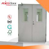Puertas cortafuego galvanizadas seccionales aisladas del escape del acero/del metal