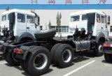 판매를 위한 북쪽 벤츠 6X4 트랙터 트럭 Beiben 트랙터 헤드