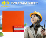 Het oranje Blad van het pvc- Schuim voor Adverterende 15mm