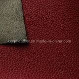 Имитационная реальная кожаный кожа мебели Semi-PU картины (QDL-1211A)