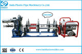 Macchina di plastica della saldatura per fusione di estremità del tubo dell'HDPE di Sud40-200mm