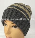 Горячий продавая шлем Beanie нашивки шлема зимы с тумаком (Hjb044)