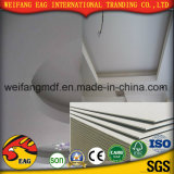 백색 색깔 PVC 천장 도와를 위한 Aliminum 포일 뒤를 가진 서류상 석고 보드