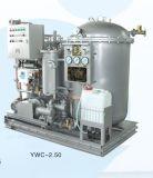 Imo에 의하여 승인된 Ywc 15ppm는 판매를 위한 빌지 분리기 1.5m3/H를 발송한다