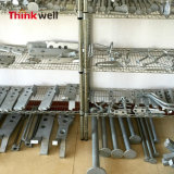 Ancrage de levage en acier allongé galvanisé à chaud DIP