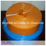 Layflat de PVC de alta pressão do tubo de borracha de água para uso agrícola