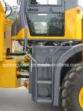 Аграрное машинное оборудование затяжелитель Zl 20 колеса 2.0 тонн многофункциональный для сбывания