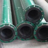 並べられたプラスチック合成鋼管