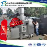 Fester pharmazeutischer überschüssiger Verbrennungsofen, Doppelraum-Abfallbeseitigung-System