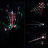 éclairage principal mobile de disco de faisceau de 12PCS 10W 4in1 LED