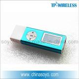 教師のための2.4G小さい手持ち型のクリップ式の無線マイクロフォン