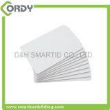 cartões Ultralight em branco brancos do smart card MIFARE C do PVC de 13.56MHz ISO14443A