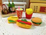Hambourg, kola, hot dog, gommes à effacer de sandwich