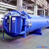 Autoclave de goma aprobada de Vulcanizating de los rodillos de la calefacción de vapor de ASME